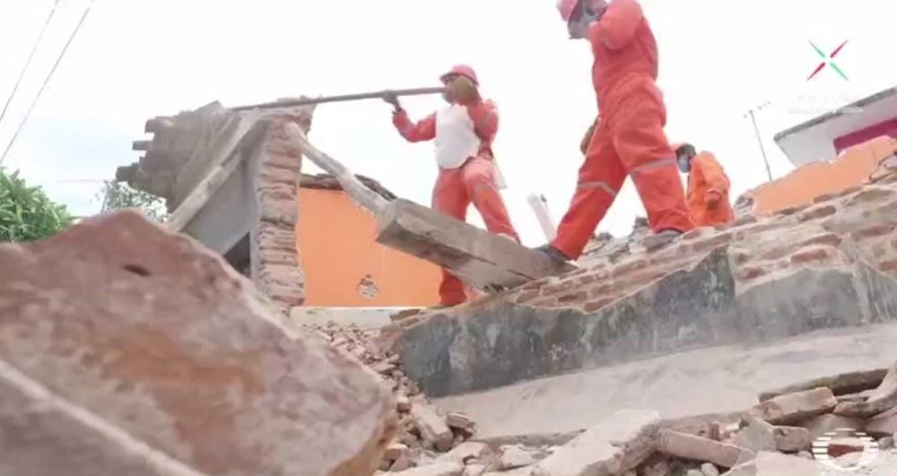 Migrantes, Oaxaca, Chiapanecos, Damnificados, Ixtepec, Sismo