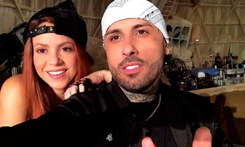 Shakira baila con Nicky Jam Perro Fiel