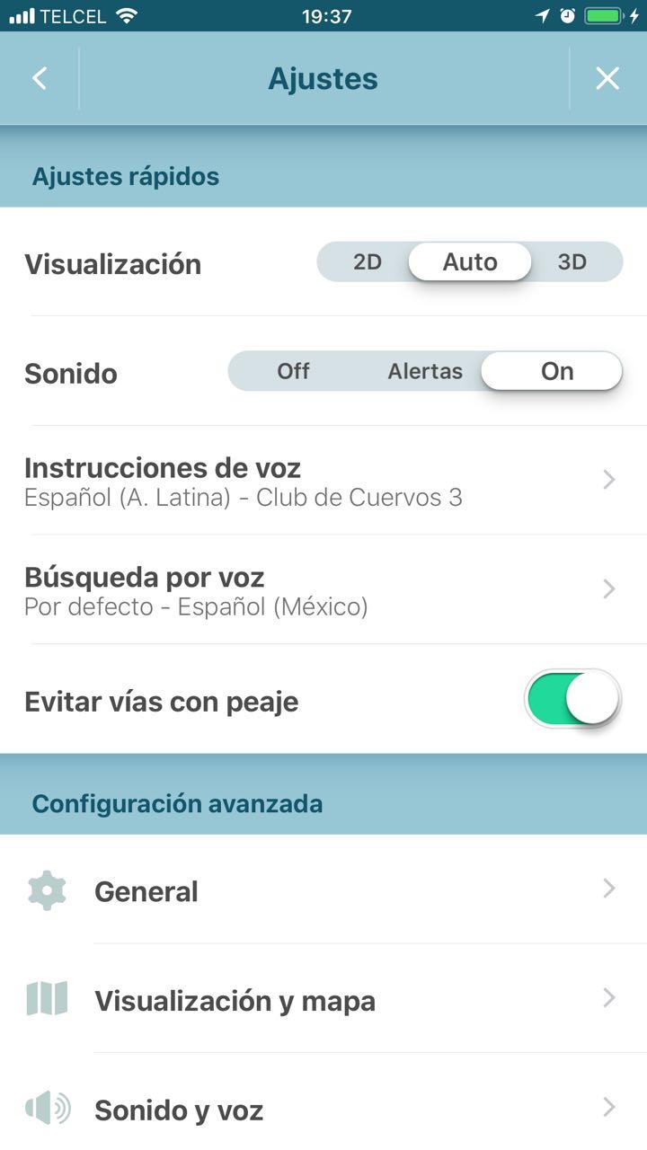 Waze Screen