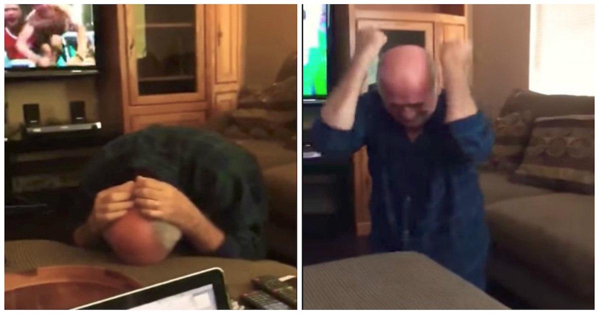 Egipto clasifica al Mundial y un abuelo se emociona