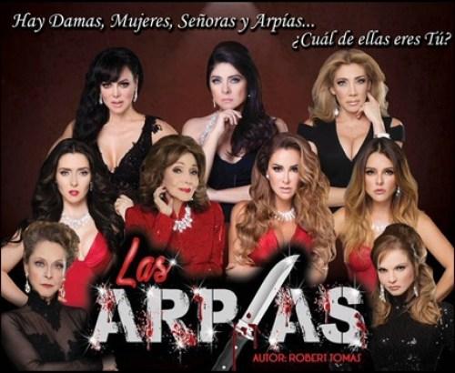 Maribel Guardia, Cynthia Klitbo, Arpías, Teatro, Ensayos, Blanconeos