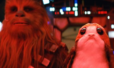 Star Wars The Last Jedi, Chewbacca y porg