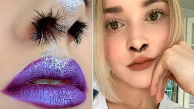 Nueva moda en Internet es enseñar los pelos de la nariz