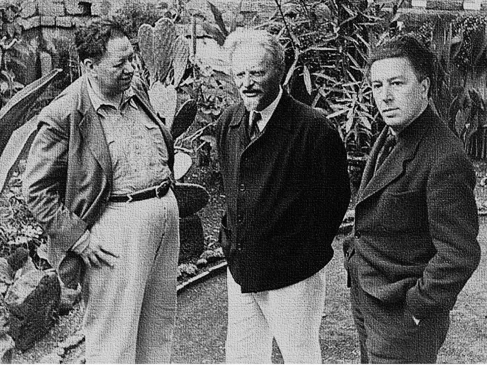 Entre comunistas te veas - Página 7 Diego-Rivera-Leo%CC%81n-Trotsky-Andre%CC%81-Breton-1938a