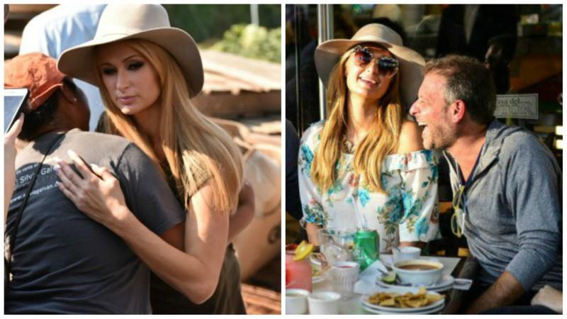 Paris Hilton visita México y apoyó a damnificados de Xochimilco