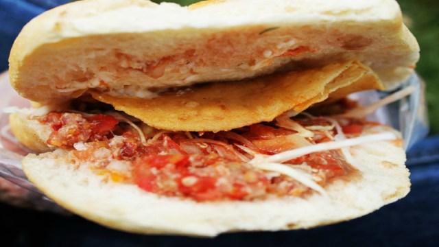 Tortas de Tostada, Comida Mexicana, Antojitos Mexicanos, Tostadas, Tortas, Antojitos
