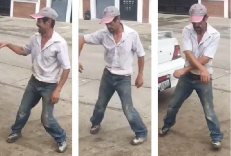 Video de bailarín callejero se vuelve viral