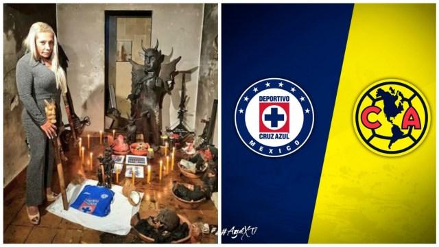 Bruja Zulema ayuda a Cruz Azul ante el América