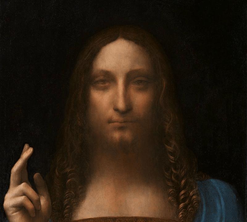 Leonardo da Vinci, Da Vinci, Salvator Mundi, Cuadro