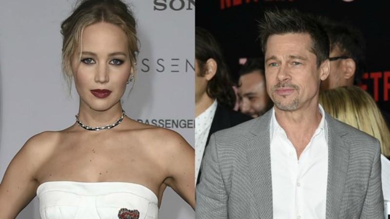 Brad Pitt sostiene un romance con... ¿Jennifer Lawrence?