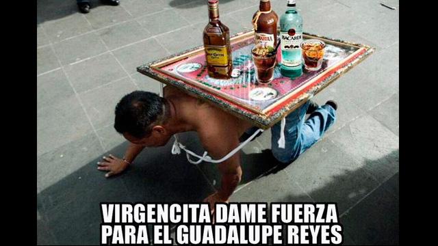Guadalupe Reyes, Maraton, El guadalupe Reyes, Memes guadalupe reyes