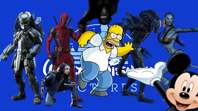 Los Simpsons, X-Men, Fox, Simpsons, Disney, Deadpool