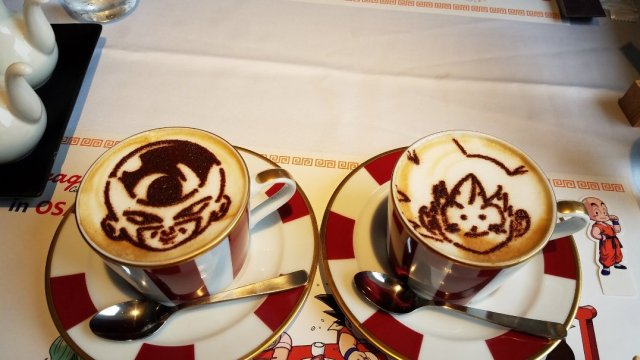 dragon ball cafe japon fotos