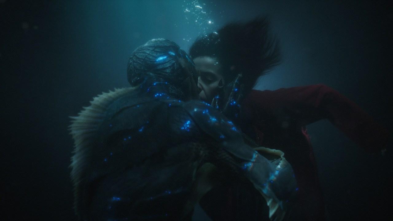 Datos de La Forma del Agua la película de Guillermo del Toro