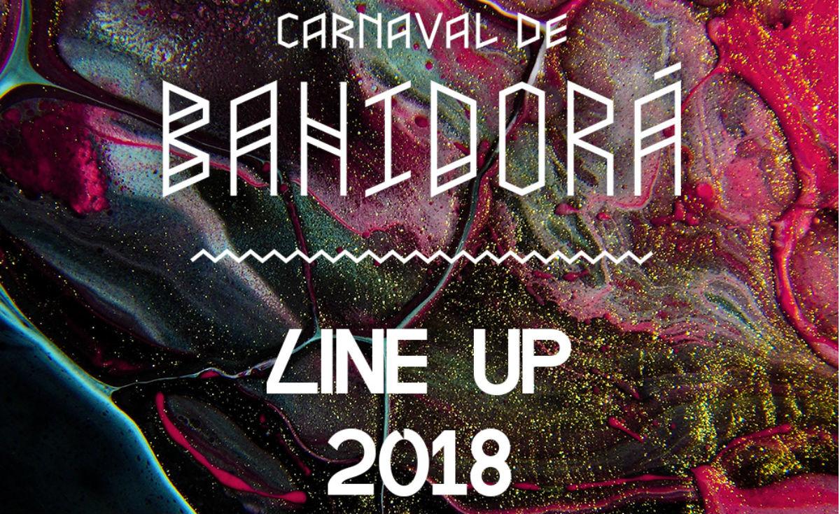 line up bahidorá 2018