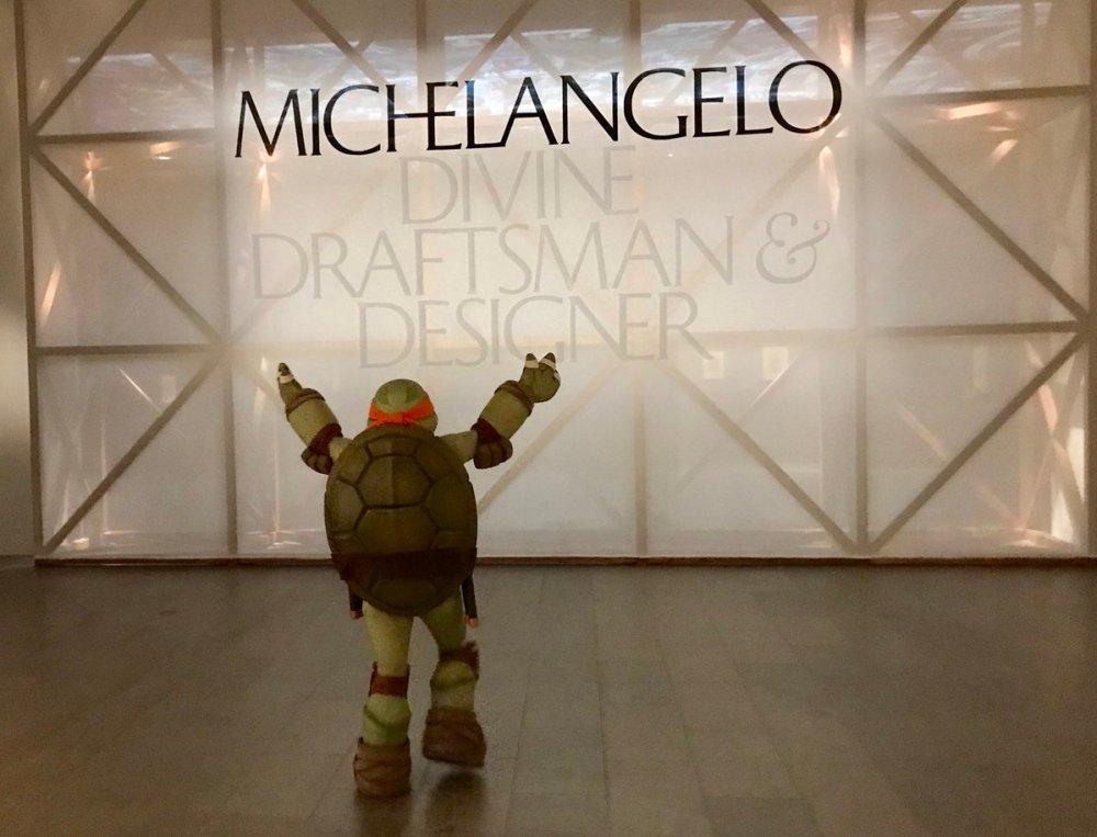 Miguel-Ángel-Tortuga-Ninja-Michelangelo-Met