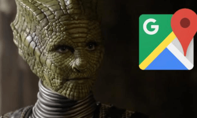 ¡Llamen a Maussan! Imagen de Google Maps captó a ¿¡un reptiliano?!