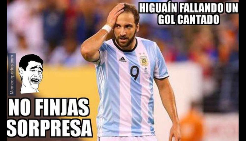 Argentina Espana Memes Goleada Fifa 6 1 Higuain 2