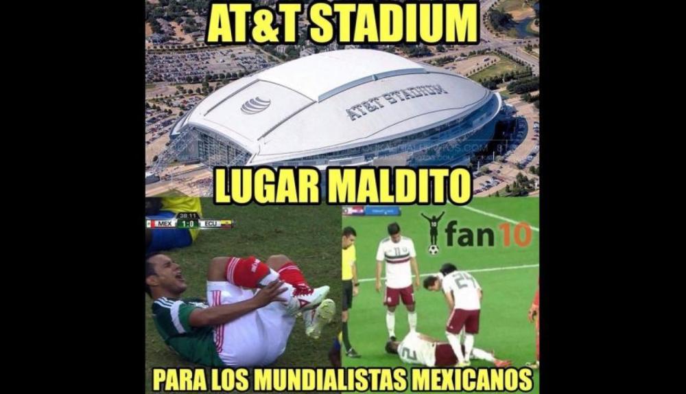 Mexico Croacia Memes Derrota Araujo Nestor Lesion Falta 2