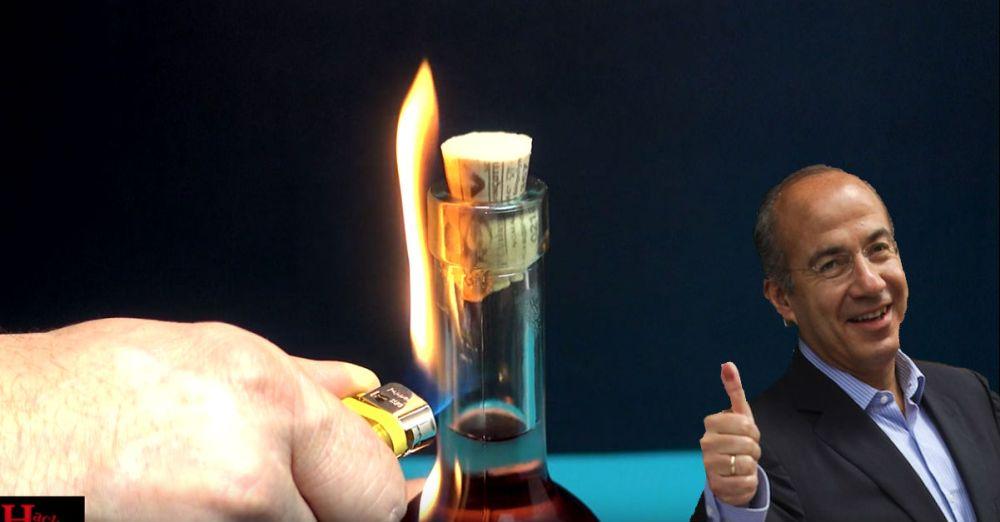 Botella-Vino-Encendedor-Fuego-Corcho-Calderon