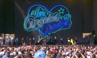 Los Ángeles Azules ponen a Bailar a Justin Bieber