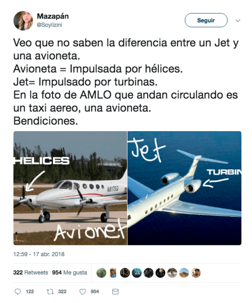 AMLO es criticado por renta de avioneta