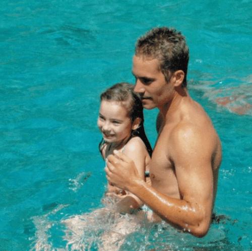 Paul Walker y su hija Meadow Walker