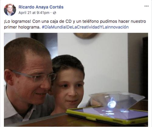 Memes de Ricardo Anaya y su hijo