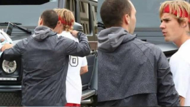 Justin Bieber se pone agresivo con un fan
