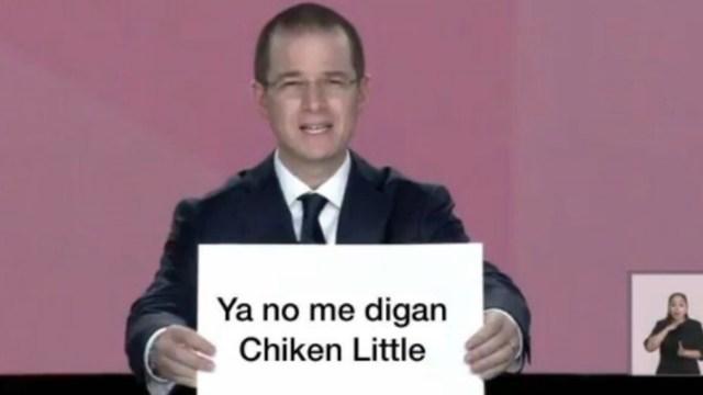 Mejores Memes Chicken Little Ricardo Anaya Debate
