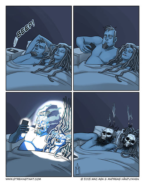 Strekinstinkt-Comic