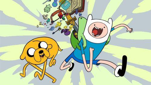 Hora de Aventura, caricatura de Cartoon Network