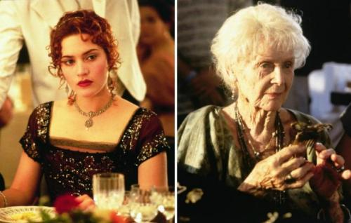 Así lucía de joven la viejita de Titanic