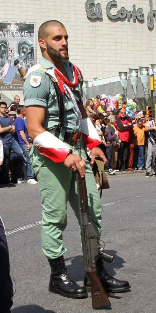 Soldado de la legion española