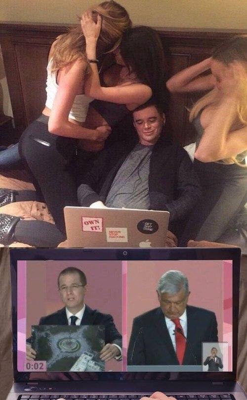 Memes de AMLO en el debate presidencial