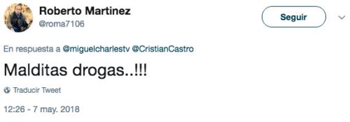 Cristian Castro se desnudó en concierto