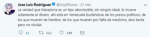 Puma Maradona Cantante Futbol Nicolas Maduro