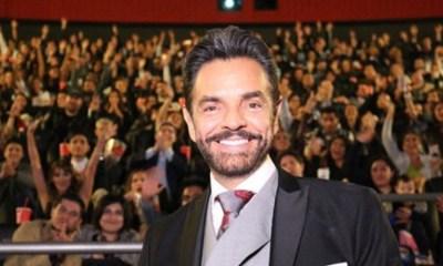 Eugenio derbez estrena con exito hombre al agua