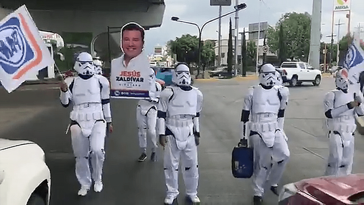 Jesús Zaldívar Storm Trooper Star Wars