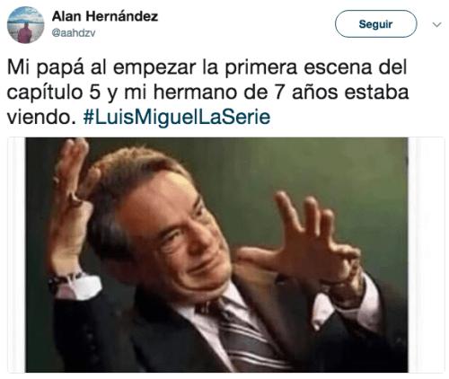 Capítulo cinco Luis Miguel La Serie