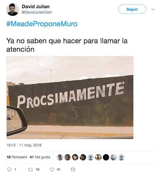 Pepe Meade Candidato PRI Muro México