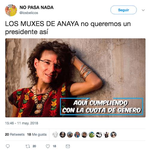 Transgénero Anaya México Frente Candidatos Personas