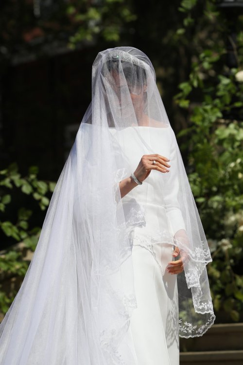 Vestido Novia Meghan Markle Boda Real