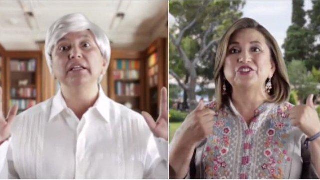 Xóchitl Gálvez Imitación Político Candidato Video