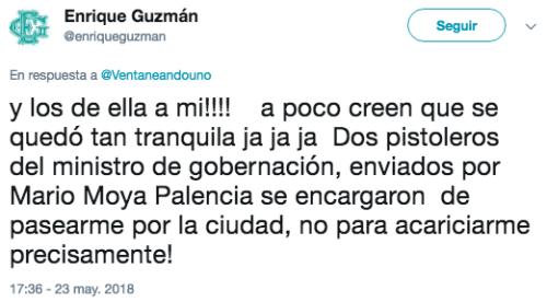 Enrique Guzman acusa a Silvia Pinal