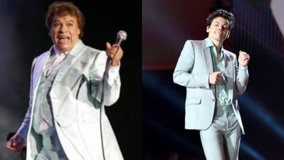 Harry Styles se viste como Juanga, Harry Styles Juan Gabriel, Harry Styles One Direction, Harry Styles México, Harry Styles concierto, Harry Styles fotos