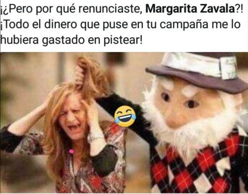 Margarita Zavala renuncia