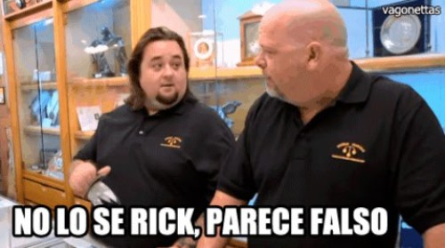 No lo sé rick parece falso