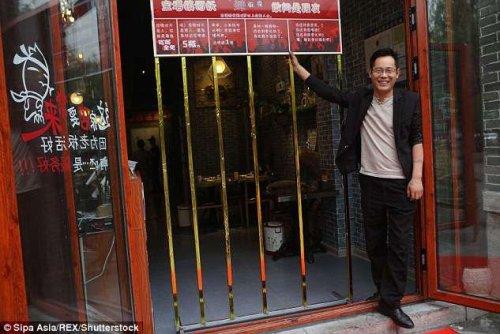 Restaurante chino solo para delgados