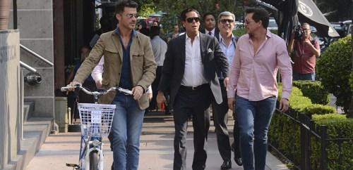 Los amigos de Luis Miguel se reunen para emotivo encuentro